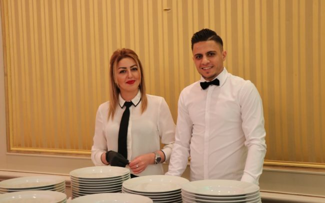 le prince catering crew